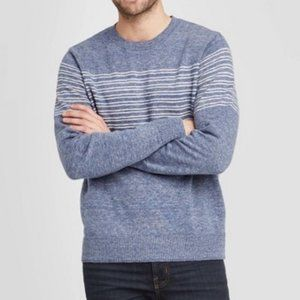 Goodfellow & Co. Blue Striped Sweater